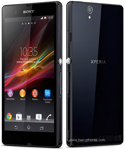 Sony Xperia Z, quadcore - berry phone