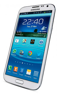 SamsungGalaxyNote2front - berry phone