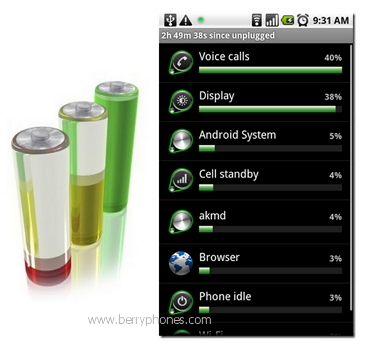 hemat batery android - Berry Phone