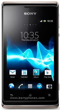 sony xperia e - berry phone