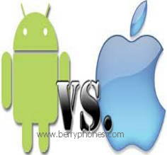 Android dan Ios - Berry Phone