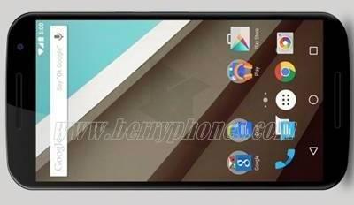Nexus 6 dengan OS terbaru Lollipop