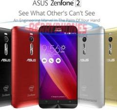 Harga dan spesifikasi Asuz zenfone 2