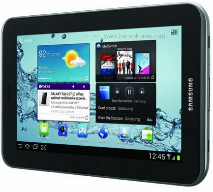 Samsung Galaxi Tab 2 7.0 - berry phone