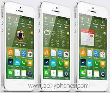 iOS 7 Apple - Berry Phone